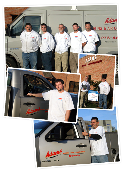 Adams Heating & Air Conditioning Corp - Services
